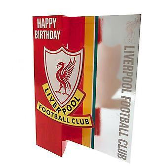 Liverpool F.C. pop ud fødselsdag card