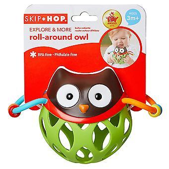 Salta hop Esplora e altro roll around giocattolo, gufo