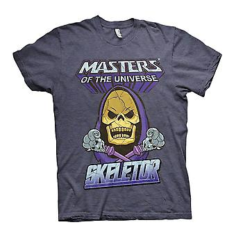 Mäns Masters of the Universe Skeletor Crew Neck T-shirt