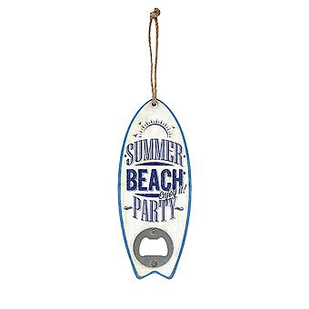 Grindstore sommer Beach Party surf Board formet Flaskeåbner