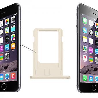 Sim Karten Halter Adapter Gold Sim Tray für Apple iPhone 6 4.7 und 6 Plus 5.5