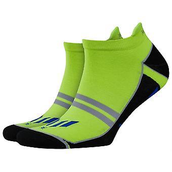 Burlington Training Boy Sneaker Socks - Black/Blue/Green