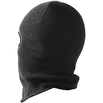 TRIXES Unisex Full -Face  Balaclava Hood Black -One Size