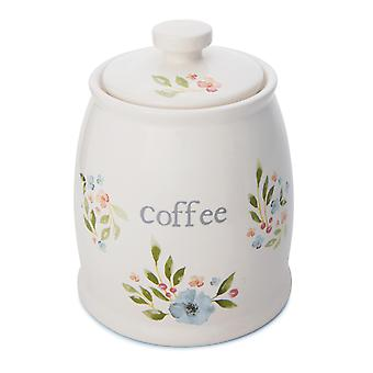 Cooksmart Country Floral Coffee Canister