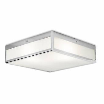 3 Light Small Bad Ceiling Light Chrome Ip44