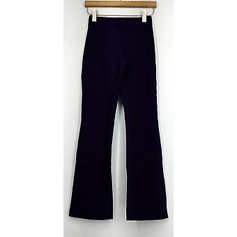 Slimming Options for Kate & Mallory Leggings Ponte Bootcut Purple A411955