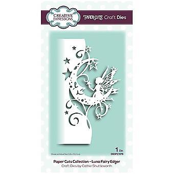 Kreativa uttryck Die Luna Fairy Edger | Insamling av pappers snitt