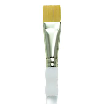 Royal & Langnickel Soft Grip Gold Taklon Brush SG700 Glaze Wash 3/4