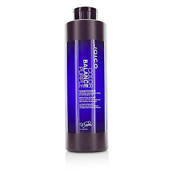 Joico Color Balance Purple Conditioner (eliminiert Brassy/gelb Töne auf blonde/graue Haare) - 1000ml/33.8oz