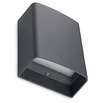 Wellindal Wall Fixture Clous 8xLed 9W Urban Grey