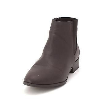Bar III Womens Gala Fabric Almond Toe Ankle Fashion Boots