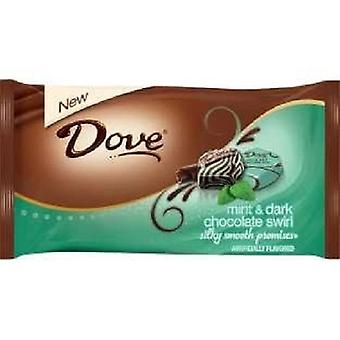 Dove Mint & Dark Chocolate Swirl Silky Smooth Promises Chocolate Candy
