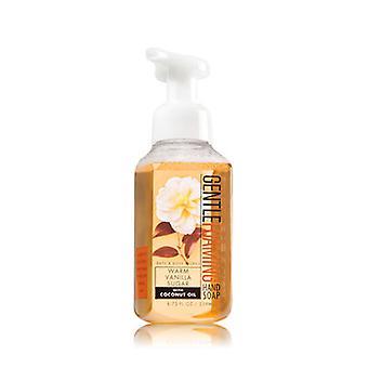Bath & Body Works Warm Vanilla Sugar Gentle Foaming Hand Soap 8.75 oz / 259 ml ( 2 Lot )