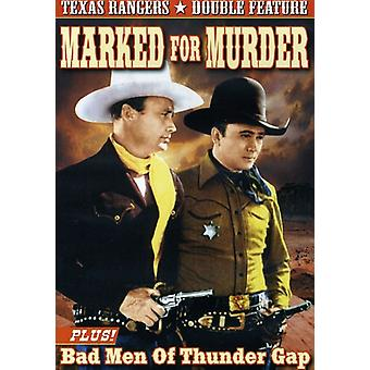 Texas Ranger Double Feature: Marked for Murder (19 [DVD] USA import