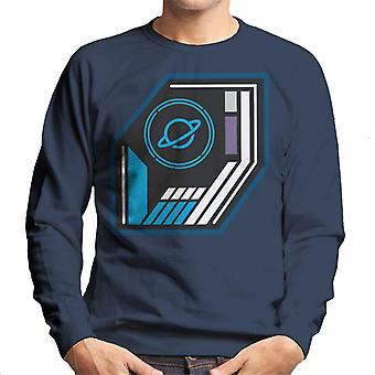 The Crystal Maze Basic Planet Badge Men's Sweatshirt