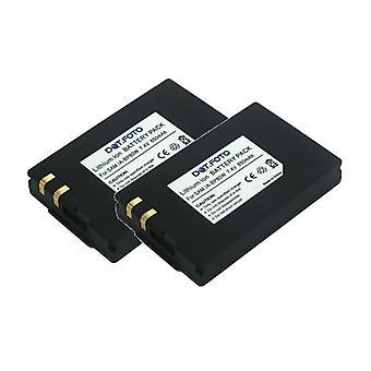 2 x Dot.Foto Samsung IA-BP80W, IA-BP80WA erstatningsbatteriet - 7,4 v / 850