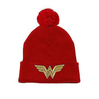 Wonder Woman-3D Gold Beanie