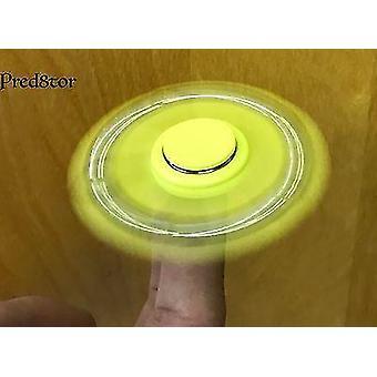 Pred8tor Finger Fidget Hand Spinner 5-Arm Fast Ball Bearing Kids Toy Craze GREEN