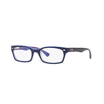 Ray-Ban RB5150 5776 Blue Transparent Violet Glasses