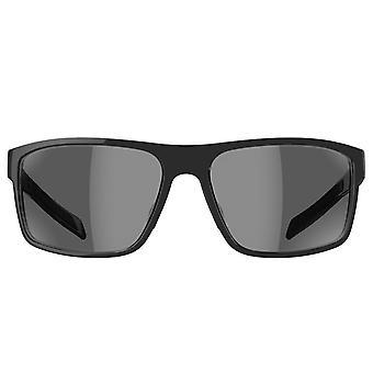 Adidas Whipstart solglasögon-svart glänsande-grå linser