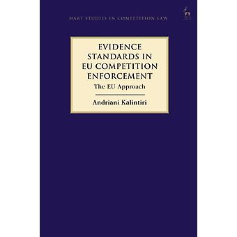 Evidence Standards in EU Competition Enforcement by Andriani Kalintiri