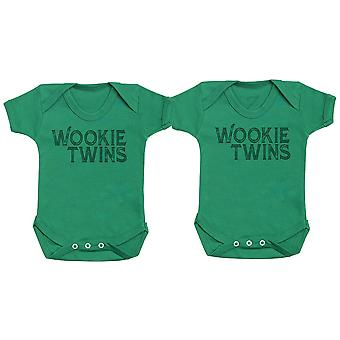 Wookie Twins, Baby Gift, Baby Boy Gift, Baby Girl Gift, Baby Boy Bodysuit, Baby Girl Bodysuit