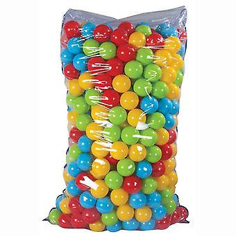 Pilsan ball bath 06402, 500 colorful game balls with 6 cm diameter in a bag