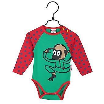 Pippi lange kous Nilsson-lichaam rood/groen