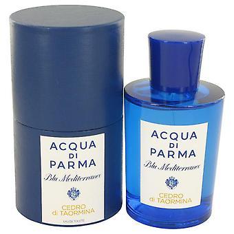 Blu Mediterraneo Cedro Di Taormina Eau De Toilette Spray (Unisex) By Acqua Di Parma   533482 150 ml