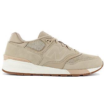 New Balance Classics ML597SKH Herren Schuhe Beige Sneaker Sportschuhe