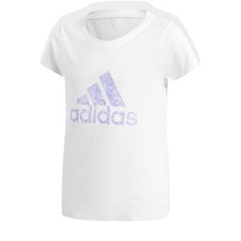 Koszulka logo Adidas Girls Essentials Performance