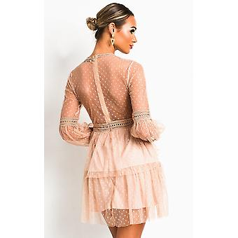 IKRUSH Womens Daisyy Lace Shift Dress