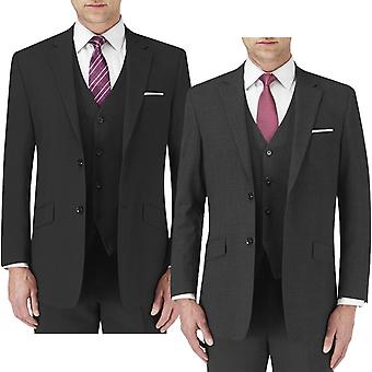 Skopes Mens Darwin Big Tall Classic Fit Single Breasted Button Up Suit Jacket