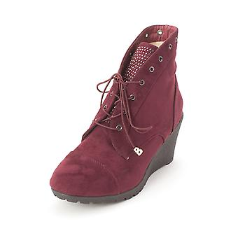 Suede Womens Tessa phare fermé orteils bottines Fashion