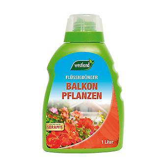 WESTLAND® Balkonpflanzendünger, 1 Liter