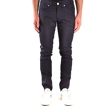 Jeckerson Ezbc069047 Men's Blue Cotton Jeans