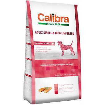Calibra Dog Adult Small & Medium Breed / Salmon & Potato. (Dogs , Dog Food , Dry Food)