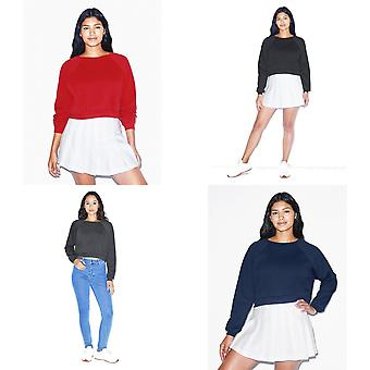 American Apparel Donne/Ladies Crop Pullover
