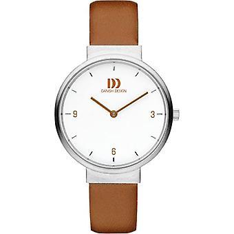 Eminem's DZ120391-wrist watch for women, brown leather strap