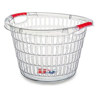 Confortime Transparent laundry basket (47 x 32 cm)