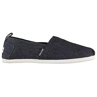 SoulCal Mens Long Beach Canvas Slip Ons