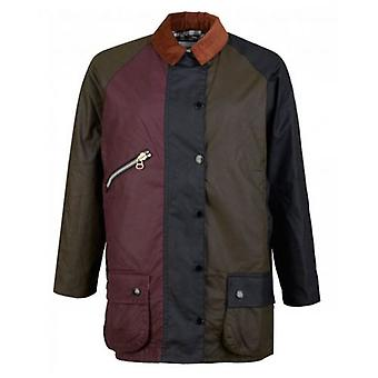 Barbour By Alexa Chung Patchwork Tri Colour Jacket