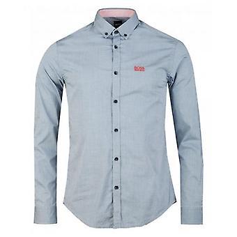 Boss Athleisure Biado Long Sleeved Oxford Shirt