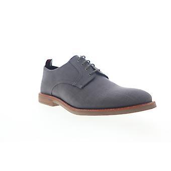 Ben Sherman Birk Plain Toe Pánske Šedé plátno Low Top Oxfords Topánky