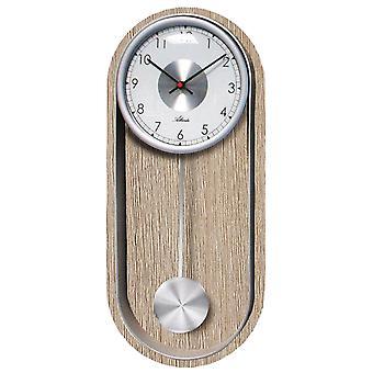 Atlanta 5015 Seinäkello Kvartsi heiluri heiluri kellon tammi värit