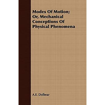 Modes Of Motion Or Mechanical Conceptions Of Physical Phenomena by Dolbear & A.E.