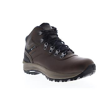 Hi-Tec Altitude VI Waterproof  Mens Brown Wide 2E Leather Hiking Boots