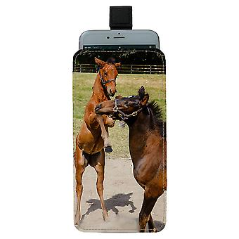 Mare & Foal Pull-up Mobile Bag