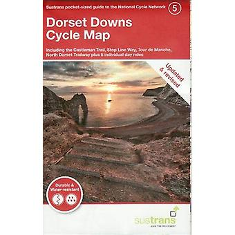 Dorset Downs Cycle Map - Including the Castleman Trail - Stop Line Way