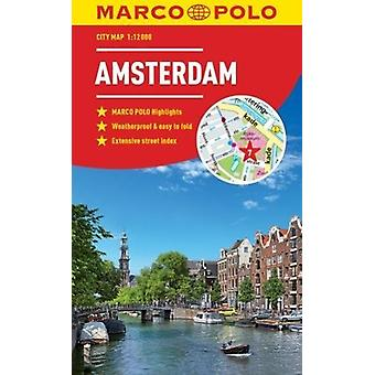 Amsterdam Marco Polo City Map by Marco Polo - 9783829759007 Book